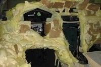 Mercedes z PUR montážnej