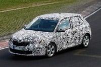 Nová Škoda Fabia zachytená