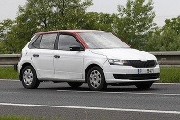 Nová Škoda Fabia nafotená