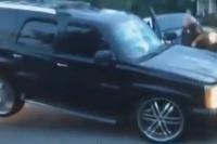 Cadillac Escalade a odťahovka