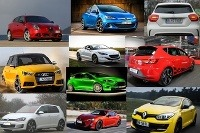 Koláž najlacnejšie športové autá