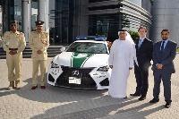Polícia v Dubaji znova