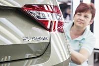 Škoda Superb už schádza