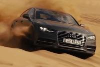 Audi A7 Sportback v púšti