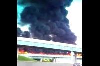 Požiar na diaľnici