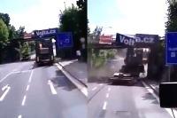 Kamión vs most