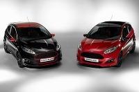 Ford Fiesta Red Black