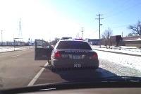 Policajt šiel rýchlo