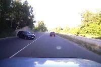 Mitsubishi nehoda