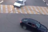 Driftovanie na križovatke