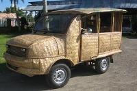 Taxíky z bambusu
