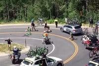 Nehoda cyklistov počas Tour