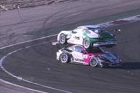 Nehoda dvoch Porsche 911