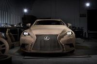 Lexus vyrobil auto z papiera