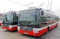 Nové trolejbusy