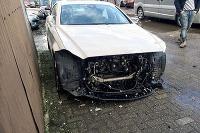 Rozobratý Mercedes CLS