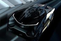 Futuristický koncept Faraday Future
