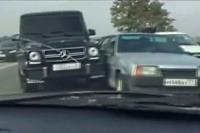 Mercedes triedy G útočí