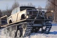 Lada pásové vozidlo do
