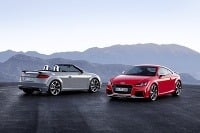 Audi TT RS Coupe a Cabrio 2016