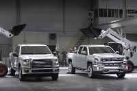 Chevrolet Silverado versus Ford