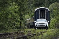 Land Rover Discovery Sport ako lokomotíva