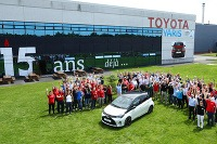 Toyota Yaris - vyrobené