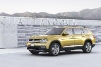 Volkswagen Atlas a CrossBlue