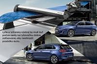 Lyže na strechu - Hyundai