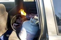 Kúrenie plynom v aute