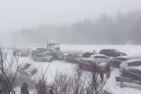 Hromadná nehoda Kanada 2017