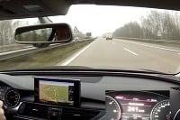 Audi na diaľnici