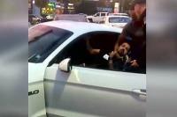 Opitý vodič Mustanga
