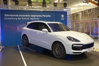 Volkswagen Slovakia predstavil nový segment Porsche