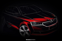 Škoda Fabia 2018 teaser