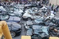 Filipínske úrady zničili 30 luxusných áut
