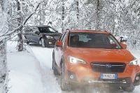 Subaru Snow Drive Days 2018