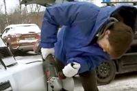 Parkovanie s karbobrúskou