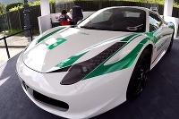 Ferrari 458 Spider milánskej polície