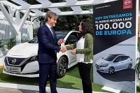Nissan predal 100 000 modelov LEAF