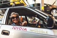 Julia Albu a Toyota Corolla z Kapského mesta do Londýna