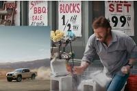 Chuck Norris a Toyota Tacoma
