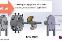 Komorový rotačný spaľovací motor Suriak