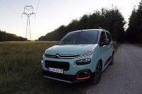 Citroen Berlingo grab