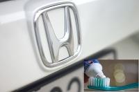 Honda vs zubná pasta