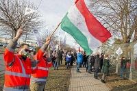 Štrajk v Audi Hungaria