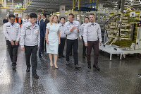 Prezidentka v Kia Motors Slovakia