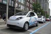 BlueIndy BlueCar, Bollore