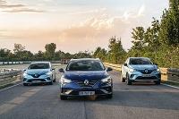 Tri nové hybridy od značky Renault