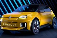 Renault 5 EV skice a prototyp 2021